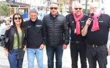 Calvi : Ambassadeur du Rallye aux 10 000 virages GT, Bernard Darniche  a donné le départ de la 1re étape