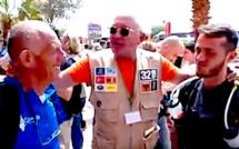 Marathon des Sables : C'est parti pour Claude Leonardi (81 ans) et son petit-fils Loïc !
