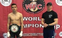 MMA : Hugo Boigeol (15 ans) a remporté l'Open International de Milan l