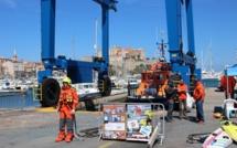 Intervention d'un Super Puma et de la SNSM en baie de Calvi : C'était un… exercice !
