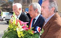 Hommage aux victimes et héros de la Déportation au Monument aux Morts de Calvi