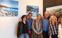Frédérique  Chandy expose au centre culturel du Spaziu  à L'Ile-Rousse