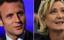 Présidentielles : Le duel Marine Le Pen - Emmanuel Macron, Front national contre Front républicain !