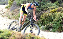 Brice Daubord sacré champion  de France de Cross Triathlon 2017 à Calvi