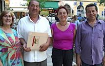 « Corse insoumise » : Présentation des candidats en Haute-Corse