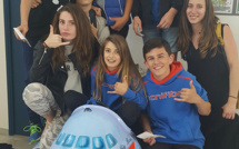 Belle performance d'ensemble à La Rochelle des jeunes du Squash Loisirs Ile-Rousse
