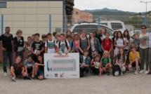 ADATEEP : Dernière action de l'année scolaire au collège de Porticcio
