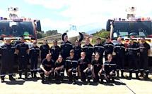Les JSP Plaine ont récemment visité la Base aérienne 126 de Solenzara