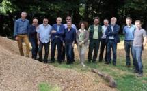 Voyage d'étude dans les Cévennes pour l'AUE et l'ADEME sur la thématique du bois énergie