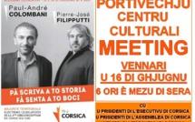 Législatives: le meeting d'entre-deux-tours de Colombani-Filipputti 2017