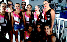Natation synchronisée : Virginie Dedieu parraine les 20 ans du Fun Beluga  Bastia