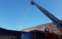 Ajaccio : Un hangar détruit par un incendie