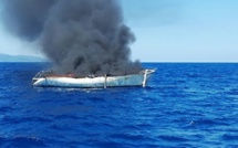 Bastia : Voilier en feu au large de l'Arinella. L'unique passager sain et sauf
