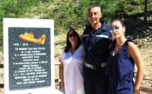 Il y a 47 ans le Pélican 22 s'écrasait à Calasima : Les pompiers n'ont pas oublié les trois victimes