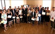 Ajaccio : Remise des Palmes Académiques au Rectorat de Corse