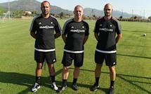 Football : Le premier entraînement de Christophe Taine au FCBB