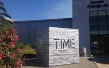 """Pascal Dombis à l'espace Orenga de Patrimonio : """" Time is time was"""""""