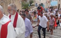 Foule à la citadelle de Calvi pour fêter Saint Vincent, patron des vignerons