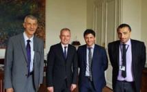 J-F Acquaviva : « Nous avons dit à De Rugy que nous voulons un statut d'autonomie »