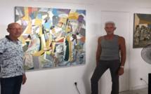 Galerie Corsic'Art design: Le vernissage de Josiane Pape