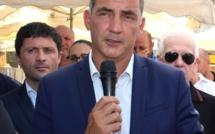 Aregnu : Gilles Simeoni rend hommage aux pompiers et lance un appel à la prudence