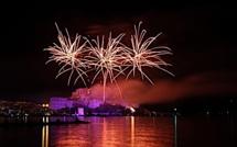 Une foule record pour le feu d'artifice du 15 août à Calvi