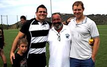 Le capitaine du XV de France Guilhem Guirado en Balagne  pour promouvoir le rugby insulaire