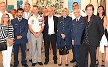 Une exposition de peinture et photos  pour symboliser les 50 ans de présence du 2e REP à Calvi