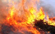 2,5 hectares détruits par le feu entre Piedicorti et Zuani