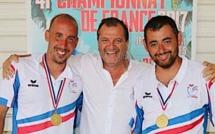 Jeu provençal : Laurent Andreoli et Jean-Pierre Grazzini champions de France en doublettes !
