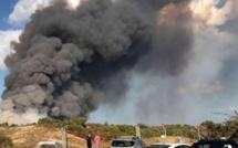 Linguizzetta  : 30 hectares détruits par les flammes à Bravone