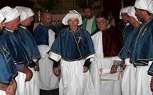 Les confrères di A Cunfraternita di A Madunnuccia di a Misericordia di Lisula intronisés
