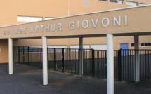 Collège Arthur-Giovoni  : Personnels bousculés et principal adjoint agressé. Une plainte déposée