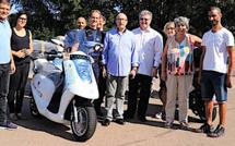 La communauté de communes du Sud-Corse s'équipe de scooters électriques Eccity