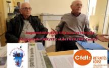 Retraités : CFDT et STC montent au créneau contre l'augmentation de la CSG