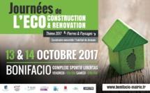 Les Journées de l'éco construction et de l'éco rénovation reviennent à Bonifacio