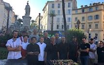 Ajaccio: Les artisans bouchers en fête sur la place Foch