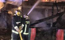 Porto-Vecchio : Un incendie détruit un restaurant et des bateaux