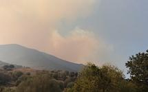 Ghisoni : Le feu continue sa progression. Plusieurs centaines d'hectares ravagés