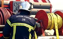 Porto-Vecchio : Important incendie dans le garage d'un immeuble