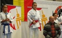 Karaté :  Cassandra Sampieri (Goju-ryu Borgo) remporte l'open de Liège