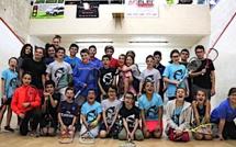 Squash : Championnats de Corse U11 - U15 à L'Ile-Rousse