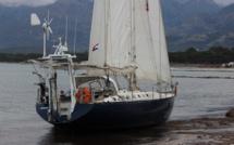 Opération de déséchouage du voilier demain à Calvi