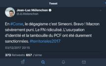"""Paul-Antoine Luciani : """"Mélenchon accable la gauche et acclame les nationalistes !"""""""