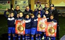 SC Bastia 1 (Elite) et AJ Biguglia (Honneur) vainqueurs du challenge de Noël du FC Squadra Calvi