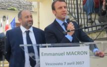 Emmanuel Macron à Ajaccio, San Giulianu et Bastia