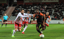Football Ligue 2 :  L'ACA renverse la situation face à Lorient (3-2)