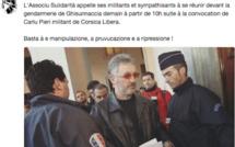 Charles Pieri convoqué à la gendarmerie de Ghisonaccia : Le soutien de l'Associu Sulidarità