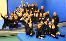 Gym acrobatique à Bastia : Près de 100 participants