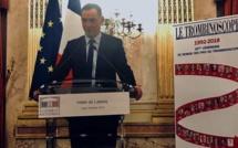 Gilles Simeoni reçoit le prix du meilleur élu local décerné par le Trombinoscope